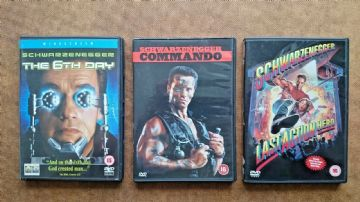 Arnold Schwarzenegger DVD Colletion
